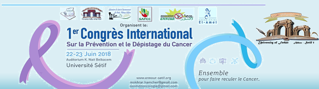 Congres cancer 2018